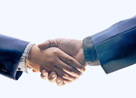 handclasp: shot of businessmen handshaking.acquisition concept.