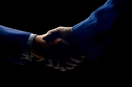 handclasp: shot of businessmen handshaking.acquisition concept.