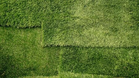 Artificial grass flooring .green background pattern beauty Stock fotó