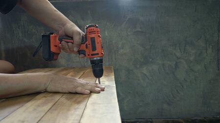 DIY mechanic equipment .DIY Woodworking Equipment Stock fotó