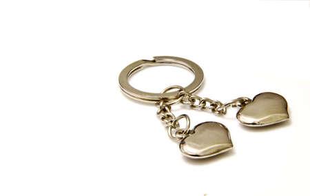 keyring: Lovely heart keyring