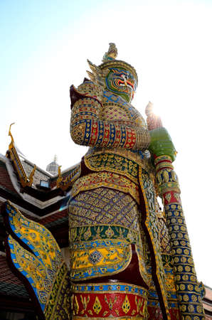 Thai Giant at Wat Phra Kaew Stock Photo - 17812502