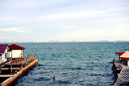 lodgings: Ocean Stock Photo