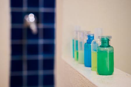 shampoo bottles: Plastic Soap and Shampoo Bottles