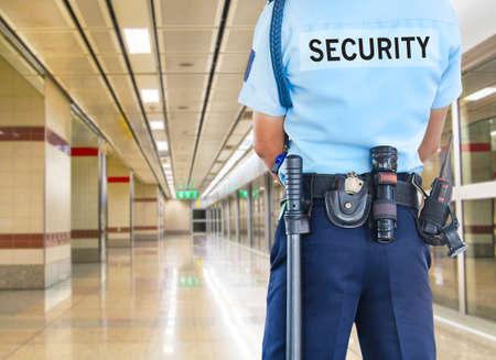 policier: Garde de s�curit�