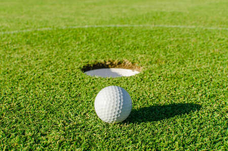 Golf into the hole
