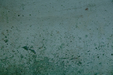 unwashed: Dirty walls. Slop paint