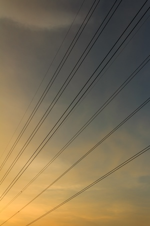 power cables: Power cables