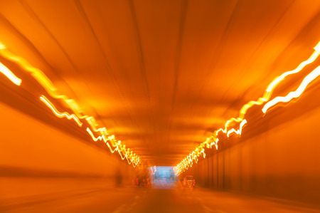 adrenaline rush: Tunnel of light