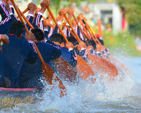 oars: rowing team race