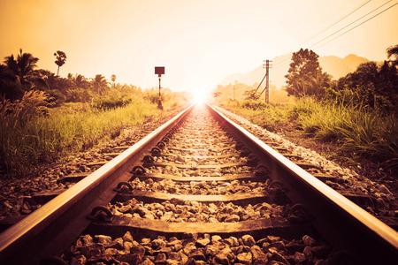 ヴィンテージ鉄道 写真素材