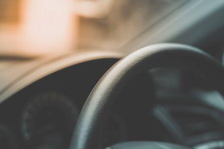 color tone: car wheel with vintage color tone