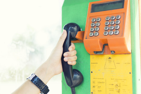 telephone: Public telephone