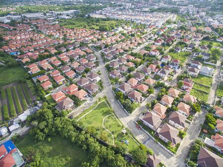 Aerial village