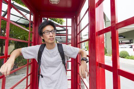 take a break: Traveler Man Take a Break