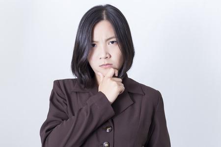 negative thinking: Pens�e d'affaires: la pens�e n�gative