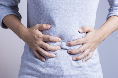 ill abdomen: Woman Stomach Ache