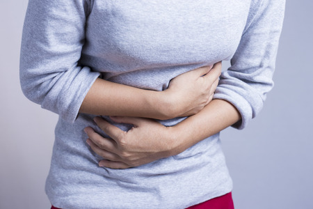 menstrual: Woman Stomach Ache