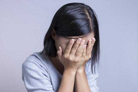 femme triste: Sad Femme  Banque d'images