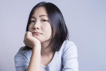 thinking woman: Woman Thinking: Negative Thinking
