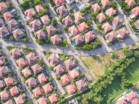 Aerial shot of housing Stock fotó
