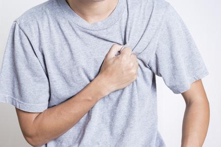 dolor de pecho: Hombre: Dolor en el pecho