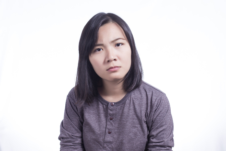 frustrating: Woman So Serious