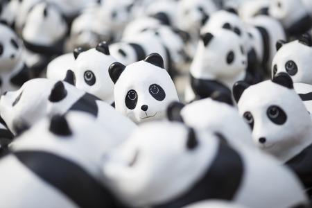 ?1600 pandas world tour? Stock Photo
