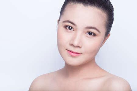 beauty shot: Beauty shot of asian girl Stock Photo