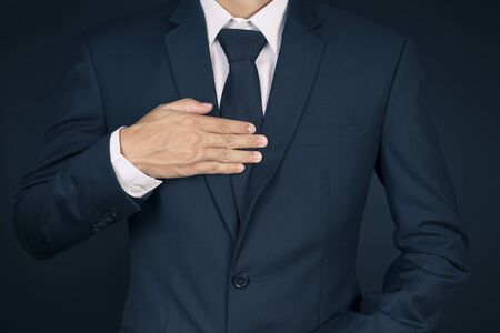 Businessman Has Chest Pain