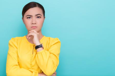 Woman has negative thinking
