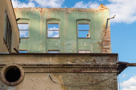associated: Abandoned textile factory in Brnnec associated with Oskar Schindler