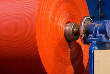 winding: Winding fabric