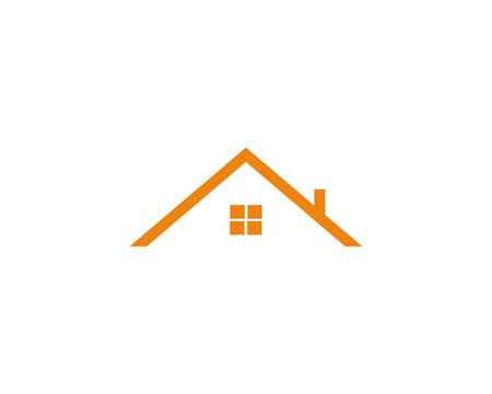 Real estate symbol. House icon.  Simple design home symbol.