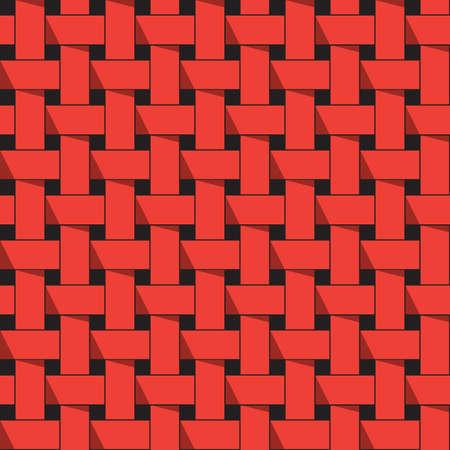 stripe: Red stripe weave pattern