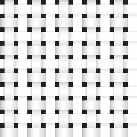 stripe: white stripe weave pattern