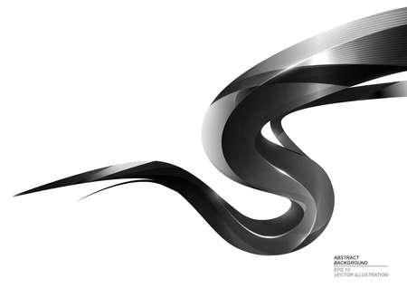 stripe: Black Ink Stripe Abstract Background
