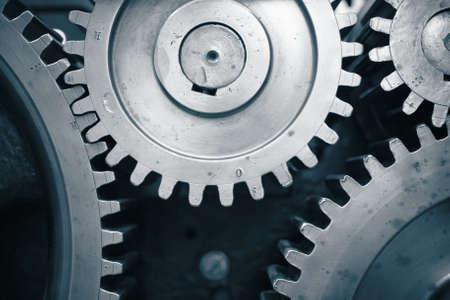 cog wheels: Large cog wheels in the motor
