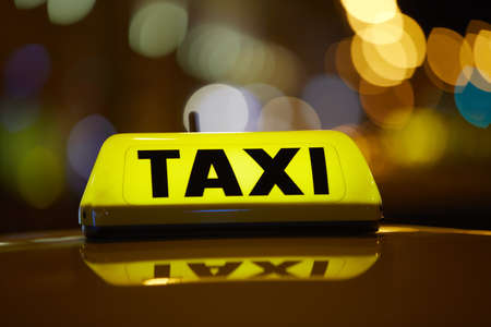 Taxi car Stock Photo - 17175500