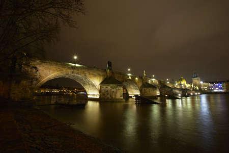 Charles Bridge, Prague, Czech Republic Stock Photo - 17170156