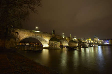 Charles Bridge, Prague, Czech Republic Stock Photo - 17170156