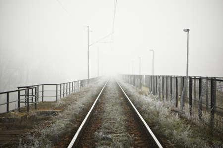 infinity road: The railway in mystery fog