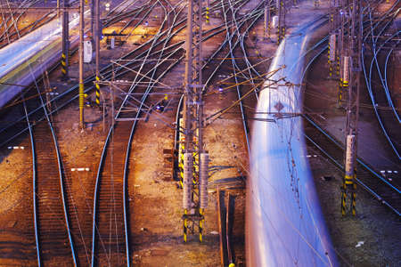 Complicated rail network Stock Photo - 17170089