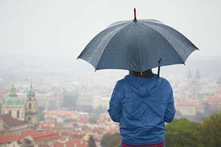 Rainy day in Prague Stock Photo - 17170084