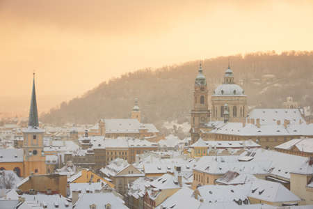 Prague in winter, Czech Republic Stock Photo - 17379151