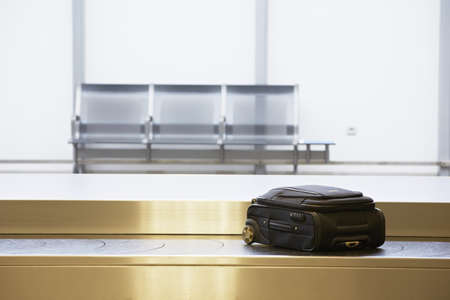 Baggage claim at the airport  Editorial