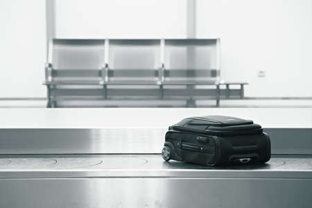 work belt: Baggage claim at the airport  Editorial