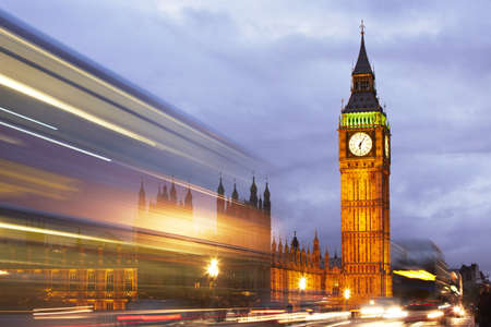 Big Ben and the Houses of Parliament, London, UK Stock Photo - 18646497