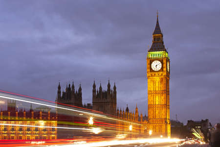 Big Ben and the Houses of Parliament, London, UK Stock Photo - 18646491