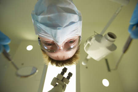 surgical mask: Dentist office - fear of the dentist